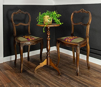 Herrenzimmer Möbel beziehen