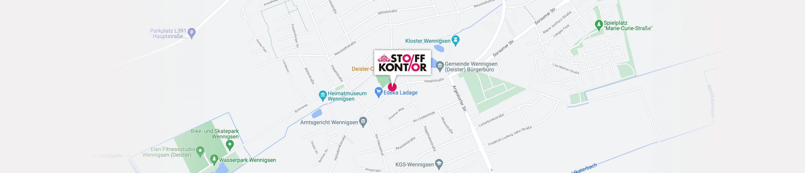Stoffkontor Wennigsen Hauptraße 10a